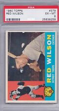 1960 Topps # 379 Red Wilson Tigers Ex Mt Psa 6