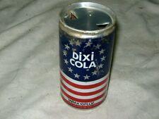 A Very Rare Australian Tarax Dixi Cola Aluminium 13 Fl oz Soft Drink Can