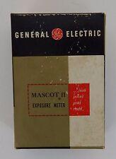 Vintage General Electric Mascot 2 Exposure Meter Type PR-35