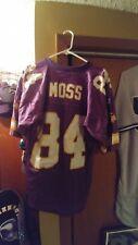 Minnesota Vikings Authentic Randy Moss  84 Vintage 90 s Starter Jersey Sz 46  Med 3e6560c91