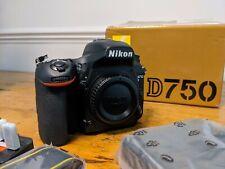 Nikon D750 24.3mp DSLR Camera - Black New