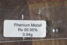 Schmelzperle Rhenium Metall 99,98% 0,94 g