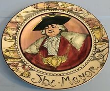 Royal Doulton The Mayor D6283 Decorative Plate Made In England 10.5�