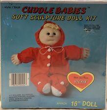 Huggables Cuddle Babies Soft Sculpture Doll Kit CB404 Vickie Brand NEW Sealed