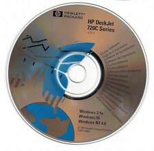 720C HP DESKJET Standard Printer CD,