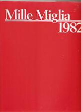 MILLE MIGLIA 1982, 1000 MIGLIA, LIBRERIA DELL'AUTOMOBILE, NEW BOOK, ON SALE $175