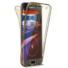 360° Silicone Protective Full Front Back Shockproof Thin Clear Phone Case Cover