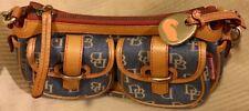 New w/out Tag Dooney & Bourke Denim & Leather Women's Handbag