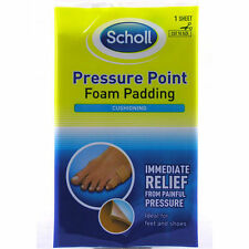SCHOLL PRESSURE POINT FOAM PADDING - 1 SHEET