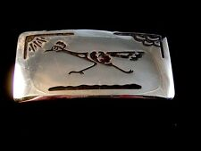 Made in U.S.A. by Chambers Vintage Road Runner Belt Buckle