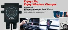 Vehicle Qi Wireless Car Charger Cradle,holder Transmitter Outlet For Smartphones
