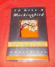 """To Kill A Mocking Bird""  Harper Lee  35th Anniv. SIGNED 1st Ed  1st Print  EXC."