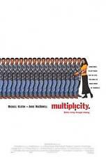 MULTIPLICITY Movie POSTER 27x40 Michael Keaton Andie MacDowell Harris Yulin
