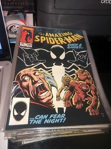 The Amazing Spider-Man #255 1st Black Fox Appearance Early Black Suit [Marvel]