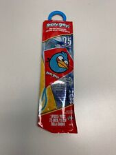 "Angry Birds Red Bird Mini Poly Diamond Kite 7.5"" Party Favor 1pc Red kite Htf"