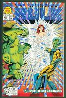 Incredible Hulk #400 VF/NM Marvel Comics 1992 1st Print Foil Cover