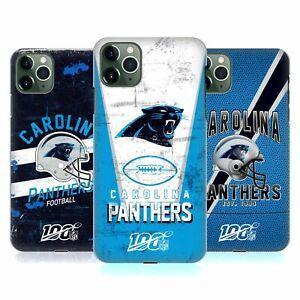 OFFICIAL NFL CAROLINA PANTHERS LOGO ART HARD BACK CASE FOR APPLE iPHONE PHONES