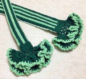 "NEW 16 Colors Crochet Handmade Bag Handle Cover Stripe 10"" LV SPEEDY ALMA Japan"