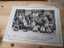 photo de classe Lycée Thiers Marseille années 1966 1967 David /Vallois Levallois