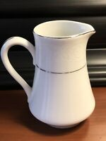 Southwicke White Lace Creamer ~ Porcelain China Made In Japan ~ EUC!
