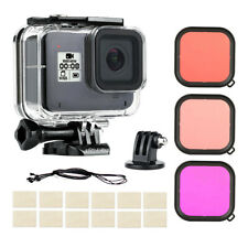 45M Diving Case Waterproof Housing with Lens Filters Kit for GoPro Hero 8 Black