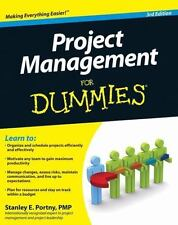 NEW - Project Management For Dummies by Portny, Stanley E.