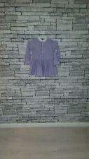 Age 4 Year Old Girl Ralph Lauren Purple Ruffle Frill Hem Cute Swing Shirt Dress