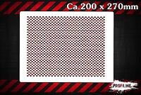 Carbon Fiber Effekt Struktur Airbrush Schablone - FX Effect Stencil