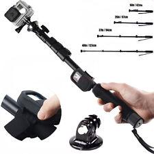 GoPro Monopod Selfie Stick Tripod Wi-Fi Remote Case for GoPro Hero HD 4 3+ 3 2 1