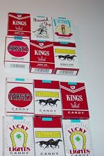 "WORLD'S KING SIZE""CANDY & BUBBLE GUM CIGARETTES""  24 PACKS  (12 Packs  Of Each)"
