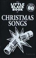 Christmas Songs The Little Black Songbook Guitar Chords & Lyrics Music Song Book