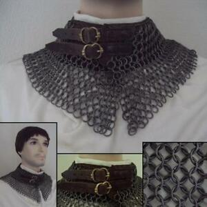 NEW High Tensile Butted Chainmail Standard - For Re-enactment Stage & LARP