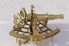 9 Inch Sextant Marine Antique Nautical Vintage brass Sextant Navy Instrument