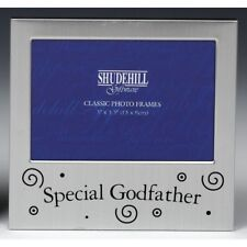 Shudehill Special Godfather Brushed Satin Silver Photo Frame 5 X 3.5 Inch 73532