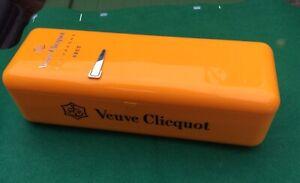 Verve Clicquot Champagne Fridge Style Cooler Plastic Box Container