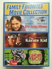 Family Favorites - Fly Away Home, Karate Kid, Short Circuit 2 - NEW DVD (eb5)