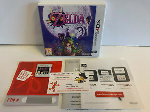 Jeu Vidéo The Legend Of ZELDA Majora's Mask 3D 3DS VF Heroic Fantasy Carte VIP