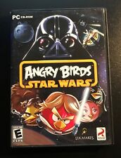 Lot of two games Angry Birds Star Wars & Bad Piggies PC