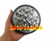 """1X 5-3/4"""" LED CREE LIGHT BULB CRYSTAL CLEAR HEADLIGHT For Harley Motorcycle 12V"""