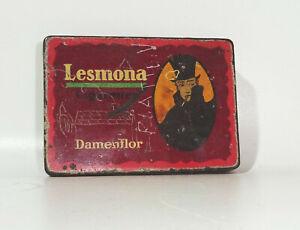 Alte Zigaretten Blechdose Lesmona Damenflor Bremen Cigaretten Fabrik 25er Dose !