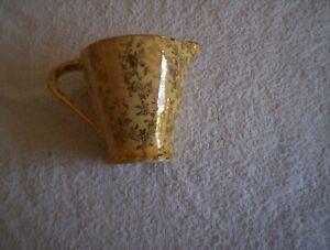 Empire Ware gold chintz Milk jug c 1941