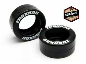 Traxxas 5185 Rubber Tires for Wheelie Bar Wheels (pair)