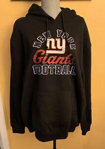 Majestic New York Giants Big Logo Pullover Hoodie Jacket Men's Size XL