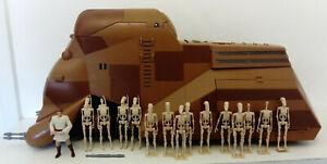 Star Wars figures MTT Mobile Troop Transport vehicle Droid Army TPM  (PFC)