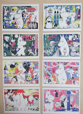 Tove Jansson ~Modern  Moomin Postcards 8 Designs Brand New 1pc Only Anime