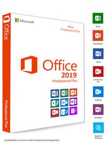 Microsoft Office 2019 Professional Plus @ DEUTSCH @ 5 PC @ Für Windows 10 NEU