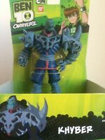 Ben 10 Omniverse Hyper Aliens Khyber Action Figure 6 inch New Packaged by Bandi