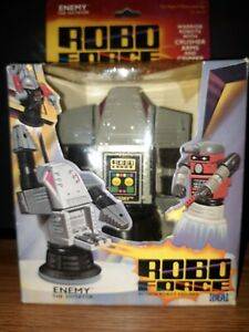 Enemy The Dictator Robo Force Action Robot Figure 1984 maxx box