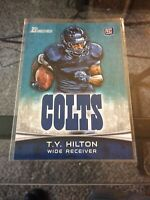 T.Y. TY Hilton 2012 Topps Bowman Rookie Card RC #172 COLTS Original