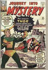 Journey Into Mystery #92-1963 vg/gd Thor Jack Kirby Loki